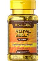 Royal Jelly 500 mg. 10-HDA 60 softgel รอยัลเยลลี่หรือนมผึ้ง ผิวเด้ง ชุ่มชื่น