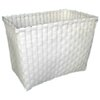 ตะกร้าพลาสติกสาน กระเป๋าพลาสติกสาน  JLSW ไม่มีสาย    กว้าง 16 cm. ยาว 26 cm. สูง19cm.