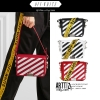 กระเป๋าสะพาย Off-White c/o Virgil Abloh Diagonal Binder-Clip -ระบุสี-