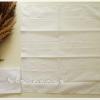 ผ้าเช็ดหน้าสีพื้น สีขาว