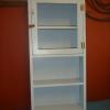 ตู้ติดผนังยาว สีฟ้า