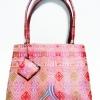 ของขวัญให้ผู้ใหญ่ กระเป๋าถือ size L แบบ 64 สีชมพู