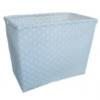 ตะกร้าสานพลาสติก กระเป๋าสานพลาสติก  JLMW ไม่มีสาย กว้าง 21 cm. ยาว 34 cm. สูง 26 cm.