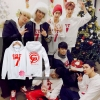 Hoodie Around The World WHITE GOT7-ระบุไซต์-