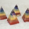 ปิรามิดเล็กหินสี 7 จักระ ( Mini Cakra Pyramis )