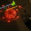 ไฟสายยางโซล่าเซลล์ สีแดง 7 เมตร