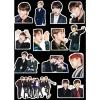 สติ๊กเกอร์พีวีซีเซต BTS GQ 2016