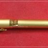 พระขรรค์ปราบไพรี รุ่นแรก หลวงปู่รอด วัดสันติกาวาส เนื้อเหล็กน้ำพี้ (ปลอกปากกา) ในด้ามฝังตะกรุดจารมือ