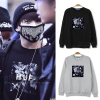 Hoodie HUF JUNGKOOK BTS -ระบุไซต์/สี-