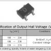 hw-105a(10 ตัว) -Hall Effect Chip