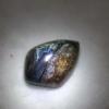จี้หินบูลปีเตอร์ไซต์ ( Blue Pietersite)