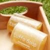 สบู่ใยบวบ - ตะไคร้หอมและน้ำผึ้ง  Luffa Soap  -  Lemongrass and Honey 100g.