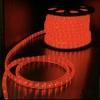 ไฟสายยาง LED (ท่อกลม) 100 m สีแดง