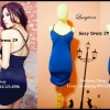 Sexy Dress 29 น้ำเงิน