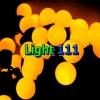 ไฟเชอรี่  LED  สีเหลือง