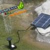 น้ำพุพลังงานแสงอาทิตย์ 7V 1.2W