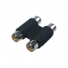 2 RCA F connector Adapter