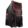 Tsunami Case Ghost Black Red