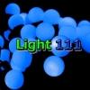 ไฟเชอรี่ LED สีฟ้า
