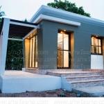 บ้านน็อคดาวน์ขนาด 3.5x5.5 ม. พื้นที่ 1 ห้องนอน 1 ห้องน้ำ 1ห้องโถง สไตล์ โมเดิร์น
