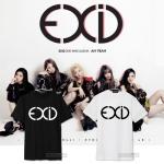 เสื้อยืด EXID LOGO AH YEAH -ระบุสี/ไซต์-