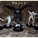 โมเดล Death Note 1 ชุด 6 ตัว
