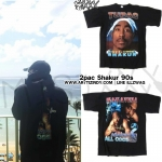 เสื้อยืด 2pac Shakur Against All Odds 90s Sty.G-Dragon -ระบุไซต์-