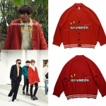 Jacket Cardigan TRUNK Full-over Knit Sty.Rap monster -ระบุไซต์-