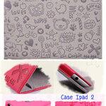 Case Ipad 2 สีม่วงอ่อน **พร้อมส่ง**