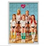 จิ๊กซอ+กรอบ Red Velvet Russian Roulette