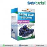 Healthway Grapeseed 50,000 mg เมล็ดองุ่นเฮลท์เวย์เข้มข้นโดสสูงสุด SALE 60-80% ฟรีของแถมทุกรายการ