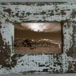 กรอบรูปทำจากไม้ขอบ 6 ซม. ขนาด 4x6 นิ้ว
