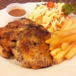 สเต็กไก่พริกไทยดำ กิโลกรัมละ