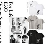 เสื้อยืด EXO Winter For Life -ระบุสี/ไซต์-