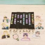 BTS name tag+พวงกุญแจ -ระบุสมาชิก-