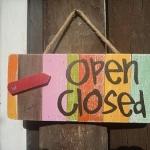 ป้าย เปิด-ปิด Open-close