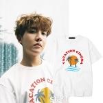 เสื้อยืด VACATION CINEMA Sty.J-HOPE -ระบุสี/ไซต์