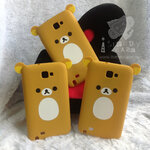 ซิลิโคน Rilakkuma For Galaxy Note1