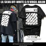 เสื้อยืด OFF-WHITE C/O Virgil Abloh x Lil Silva V1 16ss -ระบุไซต์-