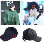 หมวก VLADEA RED-BLACK แบบ KRIS