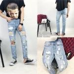 กางเกงยีนส์ Sty.Ulzzang [DENIM-11] -ระบุไซต์-