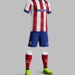 ชุดฟุตบอลแอตเลติโก มาดริด ทีมเหย้า ฤดูกาล 2014 - 2015