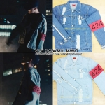 Jacket 424 DENIMV TRUCKER W/ARM Sty.MINO BODY -ระบุสี/ไซต์-