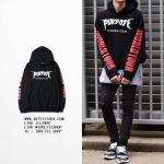Hoodie PURPOSE THE WORLD TOUR OVERSIZE -ระบุไซต์-