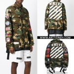 JACKET OFF-WHITE C/O VIRGIL ABLOH CAMOUFLAGE 16ss -ระบุไซต์-