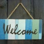ป้าย Welcome น่ารักๆ