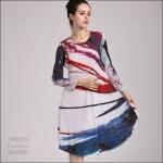 5902256 / Free size / 2016 Dress Fashion พรีออเดอร์ งานสวยมีสไตล์ คุณภาพดีสมราคา