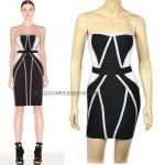 HV096 / Preorder Herve Legr Dress Style พรีออเดอร์เดรสไตล์ Hervr Leger เดรสผ้ายืด ใส่สวยเน้นรูปร่าง