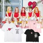 เสื้อยืด Red Velvet Russian Roulette Member -ระบุสี/ระบุสมาชิก/ไซต์-