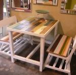 ชุดโต๊ะเก้าอี้แต่งร้านอาหารตามสั่ง